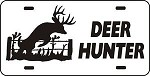 DEER HUNTER License Plate Bow Gun hunt