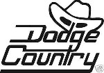 DODGE COUNTRY STICKER 4X4 TRUCK OFF ROAD DECAL