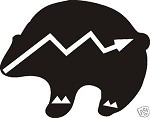 INDIAN BEAR WESTERN DECAL LIGHTNING TRACK HUNT