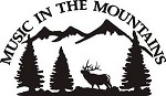 MUSIC IN THE MOUNTAINS BULL ELK BUGLE decal bow arrow hunt EXTERIOR DECAL