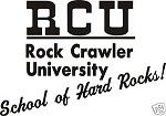 ROCK CRAWLER U decal jeep 4wd lift chevy ford dodge