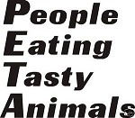 PETA Decal for hunters wall or car window