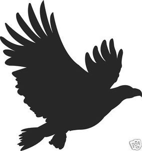 FLYING HAWK Decal