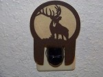 Awsome Laser cut Steel ELK NIGHT LIGHT deer cabin house decor hunt blind