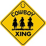 COWBOY XING CROSSING LARGE 16.5