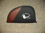 Shoot Like a Girl Black PISTOL Gun CASE RUG Medium 11