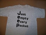 WHOLESALE T Shirts Lot of 24 JEEP Just Empty every pocket 4wd your choice design