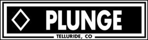 Ski Snowboard THE PLUNGE Telluride Run Slope difficulty Aluminum resort sign