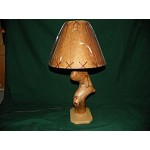 ONE OF A KIND ASPEN LAMP Rustic Log Furniture Lodge Decor Home Cabin Shade